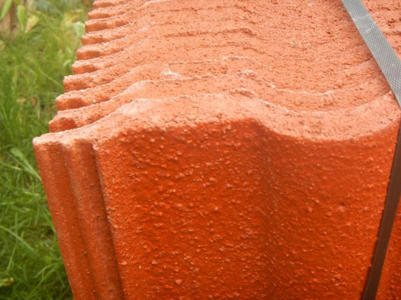 Tegola doppia romana granulata plus rossa imer store for Tegola wierer