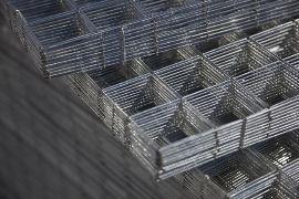 Rete Elettrosaldata Zincata 10x10.Rete Da Massetto Zincata Elettros Cm 200x100 Filo 1 4 Maglia 5x5